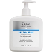 Dove DermaSeries Dry Skin Relief Gentle Cleansing Body Wash