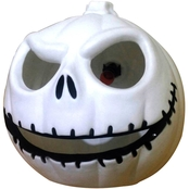 ICE Design Factory Halloween Light Up Round Skull Decor