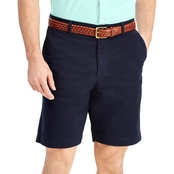 Chaps Stretch Twill Flat Front Shorts