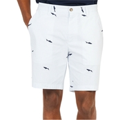 Nautica Classic Fit Allover Shark Shorts