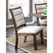 Furniture of America Mandy Side Chair 2 Pk.