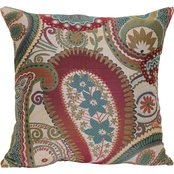 Brentwood Originals Succulent Blossom Decorative Pillow