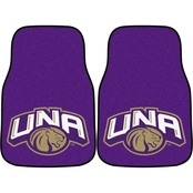 Fan Mats NCAA Division II 17 x 27 in. Carpet Car Mat 2 pc. Set