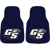 Fan Mats NCAA Division I 17 x 27 in. Carpet Car Mat 2 pc. Set