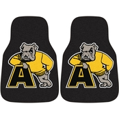 Fan Mats NCAA Division III 17 x 27 in. Carpet Car Mat 2 pc. Set