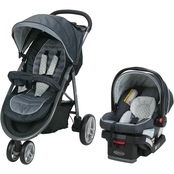 Graco Aire3 Travel System with SnugRide SnugLock 30 Infant Car Seat