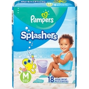 PAMPERS SPLASHERS SIZE 4 18CT