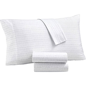 Martha Stewart Collection 300 Thread Count Printed Standard Pillowcase 2 Pk.