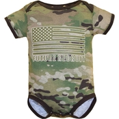 Trooper Clothing Infant Boys Multicam Future Recruit Bodysuit