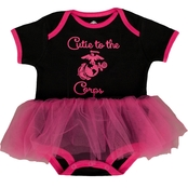 Trooper Clothing Infant Girls Marine Bodysuit with Tulle Tutu