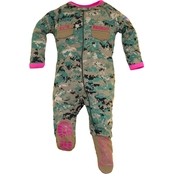 Trooper Clothing Infant Girls Marine Uniform Crawler