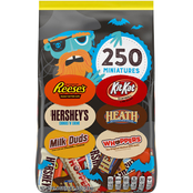 Hershey's Halloween All Time Greats Candy Assortment 250 ct. 81.4 oz.