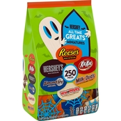 Hershey's Halloween All Time Greats Miniatures Assortment 250 pc.