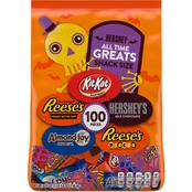 Hershey All-Time Greatest Snacksize Assortment, 100 pc.