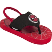 Marvel Spider-Man Boys Lighted Flip Flops