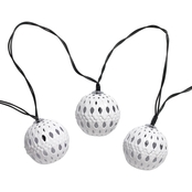 Smart Solar Solar String Light Carnivale (White) 20 Ct.