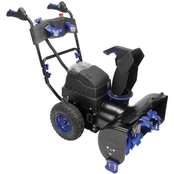 Snow Joe ION8024-XR 24 in. 80 Volt Cordless Two Stage Snow Blower with Headlights