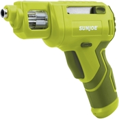 Sun Joe SJ4VSD Lithium-Ion Cordless Rechargeable Power With Quick Change Bit System