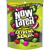 Now and Later Extreme Sour Mixed Fruit Chews 10 oz.