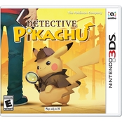 Great Detective Pikachu (Nintendo 3DS)
