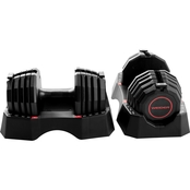 Weider 50 lb. Adjustable Dumbells Pair