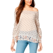 Style & Co. Off the Shoulder Top