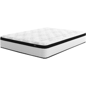 SierraSleep Chime Hybrid 12 in. Plush Mattress