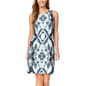 Charter Club Print Shift Dress
