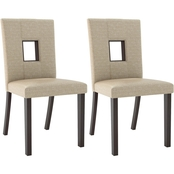 CorLiving Bistro Dining Chair 2 pk.