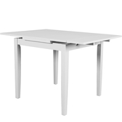 CorLiving Dillon Extendable Dining Table with Two 8 in. Leaves