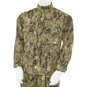DLATS Men's NWU III Woodland Camo Coat