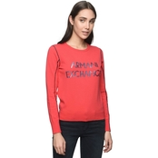 Armani Exchange Logo Crew Top