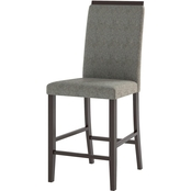 CorLiving Bistro Counter Height Dining Chairs 2 pk.