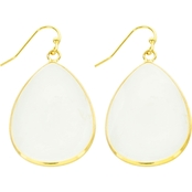 Panacea Cut Stone Teardrop Earrings