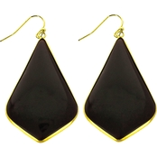 Panacea Cut Stone Pear Shape Earrings