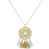 Panacea Dream Catcher Pearl Pendant