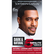 Dark and Lovely Softsheen Carson Dark and Natural 5 Minute Hair Color, Black
