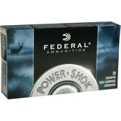 Federal PowerShok .243 Win 100 Gr. Soft Point, 20 Rounds