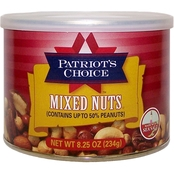 Patriot's Choice Mixed Nuts (with Peanuts) 8.25 oz.