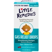 Little Remedies Tummy Gas Relief Drops, Natural Berry Flavor