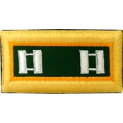 Army CPT Military Police Female Shoulder Straps