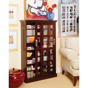SEI Window Pane Media Cabinet