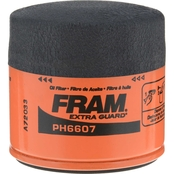 FRAM Extra Guard Spin On Oil Filter, PH6607