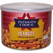 Patriot's Choice Salted Peanuts 8.5 oz.