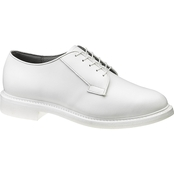 Bates Women's White Leather Oxford
