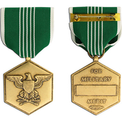 Large Medals, Army Commendation