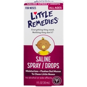 Little Remedies Noses Saline Spray/Drops