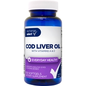 Exchange Select Natural Cod Liver Oil, 100 Ct.