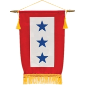 Sayre Service Flag, 3 Blue Star