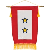 Sayre Service Flag, 2 Gold Star
